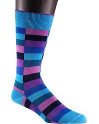 Duchamp - Harlequin Patterned Socks - Lyst