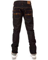 Nudie Jeans The Thin Finn Organic Dry Twill Jeans - Lyst