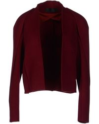 Haider Ackermann Blazer red - Lyst