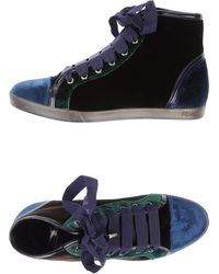 Fendi Hightop Sneaker - Lyst