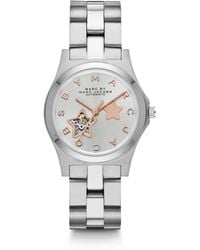 Marc By Marc Jacobs Two-Tone Stainless Steel Star Cutout Watch - Lyst