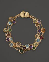 Marco Bicego - 18K Gold Jaipur Mixed Stone Bracelet - Lyst