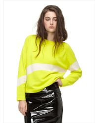 Paper London Yellow Slalom Jumper in Cashfeel By - Lyst