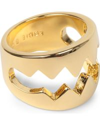 Eddie Borgo - Bear Trap Goldplated Ring - Lyst