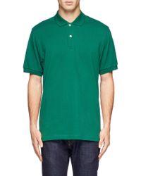 Sunspel Cotton-Piqué Polo Shirt - Lyst