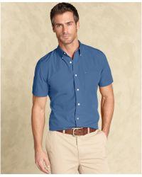 Tommy Hilfiger Max Fashion Slim Fit Button Down Shirt - Lyst