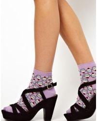 Stussy - Asos Cupcake Socks - Lyst