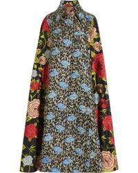 Duro Olowu - Embroidered Silk Cape - Lyst