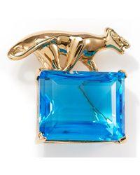 Kule Cougar Stone Pin - Lyst