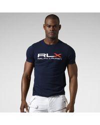 RLX Ralph Lauren   Logo Cotton Jersey T-shirt   Lyst