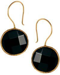 Tatty Devine Ottoman Hands One Stone Drop Earrings - Lyst