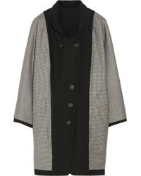 Band of Outsiders - Reversible Woolblend Coat - Lyst