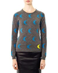 Chinti & Parker Moon Intarsia Knit Sweater - Lyst
