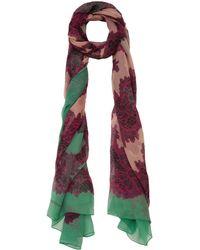 Jonathan Saunders - Pink Lace Print Silk Scarf - Lyst