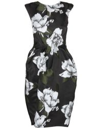 Lanvin Jacquard Dress - Lyst