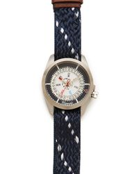 Miansai - M1 Navy Watch with Ropeleather Band - Lyst