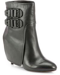Vera Wang Lavender - Savona Leather Ankle Boots - Lyst