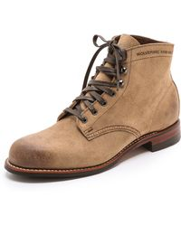Wolverine 1000 Mile Morley Full Grain Leather Boots - Lyst