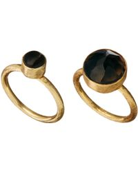Ashiana - Set Of 2 Rings - Lyst