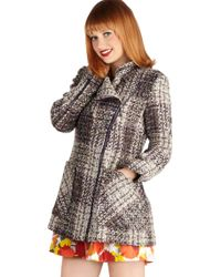 ModCloth Boucle Of The Land Coat - Lyst