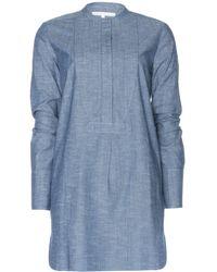 Victoria Beckham Denim Dress - Lyst