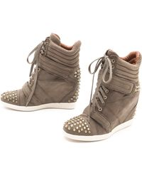 Boutique 9 - Nevanly Low Wedge Sneakers - Lyst