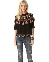 Carolina K - Guate Fringe Sweater - Lyst