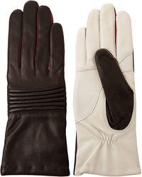 Isabel Marant | Black and White Wescott Gloves | Lyst