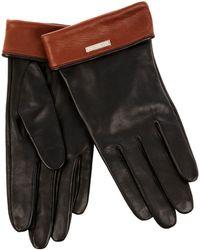 Karen Millen - Colour Block Glove - Lyst