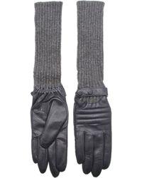Kurt Geiger - Antonia Leather Gloves - Lyst