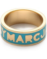 Marc By Marc Jacobs - Dreamy Logo Ring - Lyst