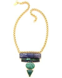 Wouters & Hendrix - Chunky Stone Necklace - Lyst
