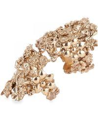 Bernard Delettrez - Articulated Floral Ring - Lyst