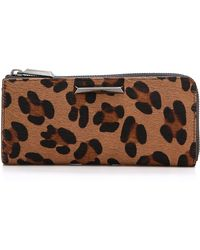 Elizabeth and James - Print Haircalf Continental Wallet - Lyst