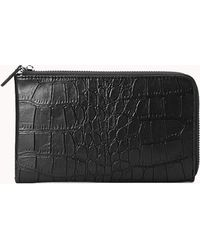 Forever 21 - Luxe Faux Crocodile Wallet - Lyst