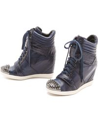 Boutique 9 - Nevan Low Wedge Sneakers - Lyst
