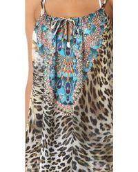 Camilla Beach House Azul Cover Up Dress - Lyst