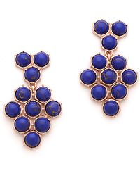 Giles & Brother - Hex Mesh Dangle Earrings - Lyst