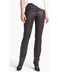 Nydj Sheri Coated Stretch Skinny Jeans - Lyst