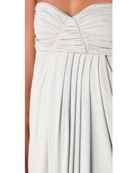 Rachel Pally Long Fortuna Strapless Dress - Buttercream - Lyst