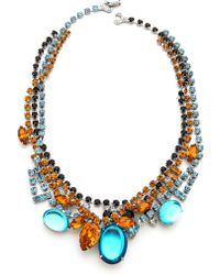 Tom Binns - Topaz Crystal Tangled Necklace - Lyst