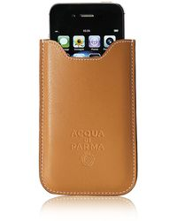 Acqua Di Parma - Tournã©E Weekend Leather Iphone Holder (4-4S) - Lyst