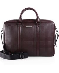 Burberry Maxwell Business Bag - Lyst