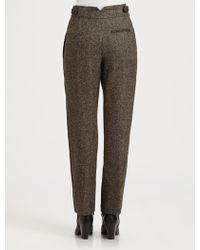 Christophe Lemaire - Alpaca Patchwork Suit Pants - Lyst