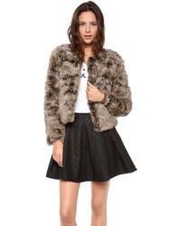 Dolce Vita - Luxor Fur Jacket - Lyst