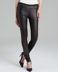 Helmut Lang Pants - Leather Skinny - Lyst