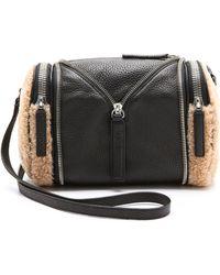 Kara - Double Date Convertible Shearling Bag - Lyst