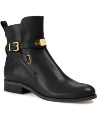 Michael Kors Michael Arley Leather Ankle Boot - Lyst