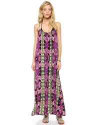 MINKPINK Tahiti Maxi Cover Up Dress - Lyst