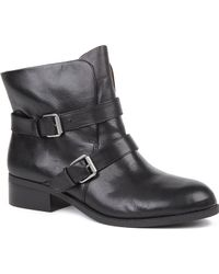 Nine West Pippy Leather Ankle Boots - Lyst
